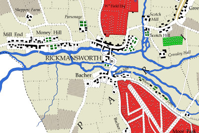 Extract including Rickmansworth