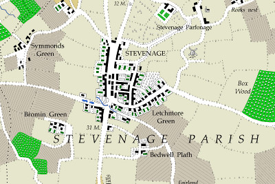 Extract including Stevenage